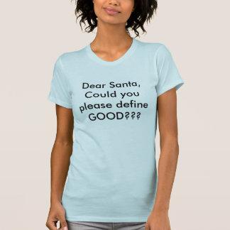 T-shirt chemise très drôle de chistmas