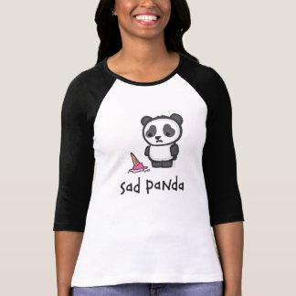 T-shirt Chemise triste de panda (lumière)
