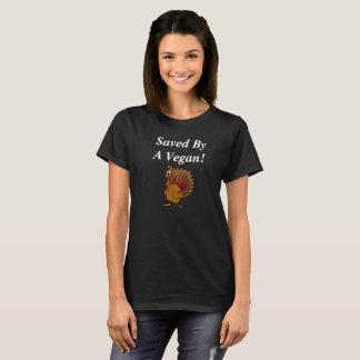 T-shirt Chemise végétalienne de thanksgiving