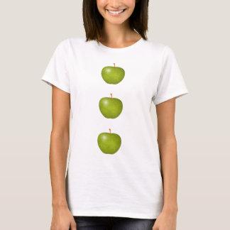 T-shirt Chemise VERTE de POMMES