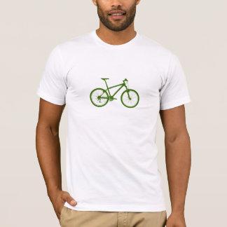 T-shirt Chemise verte de vélo de montagne