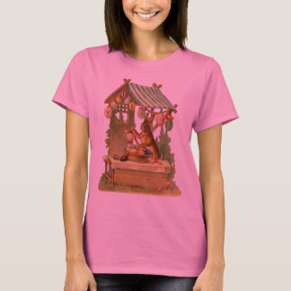 T-shirt Chemise vintage de lapin de Pâques