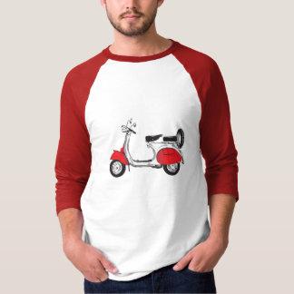 T-shirt chemise vintage de scooter