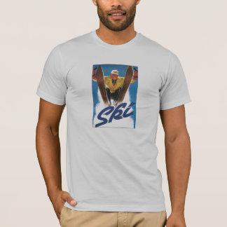T-shirt Chemise vintage de ski