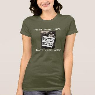 T-shirt Chemise vintage de vote de femmes
