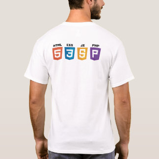 T-shirt Chemise Web develop
