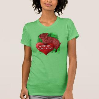 T-shirt Chemises d'amour de Quokka