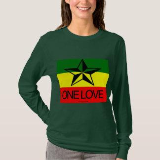 T-shirt Chemises d'amour de Rasta un