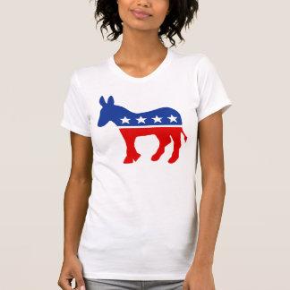 T-shirt Chemises d'âne de Démocrate