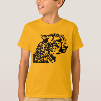 T-SHIRT CHEMISES D'ANIMAL SAUVAGE DE GUÉPARD