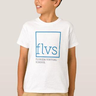 T-shirt Chemises de blanc de la jeunesse de FLVS