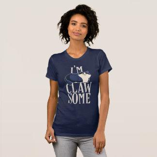 T-shirt Chemises de chat pour des femmes Im Clawsome