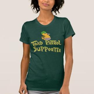 T-shirt Chemises de défenseur de patrouille de crapaud de