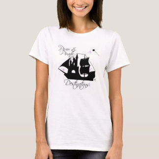 T-shirt Chemises de destinations de lutin et de pirate