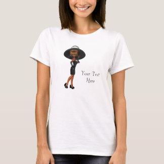 T-shirt Chemises de la diva de la femme