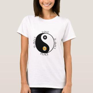 T-shirt Chemises de piscine de paix d'amour