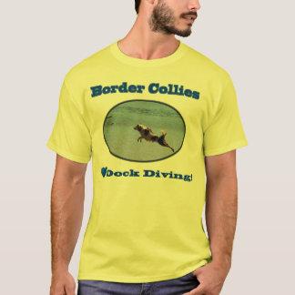 T-shirt Chemises de plongée de dock d'amour de colleys de