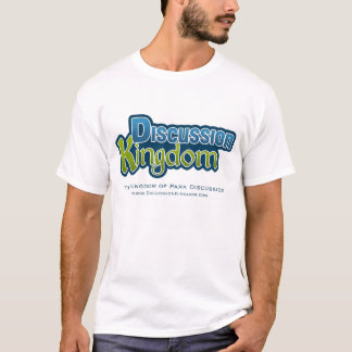T-shirt Chemises de royaume de discussion