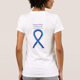 T-shirt Chemises de ruban d'agression sexuelle et de