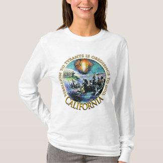 T-shirt Chemises de thé de la Californie