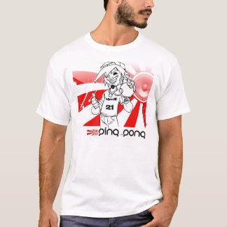 T-shirt Chemises d'équipe de ping-pong