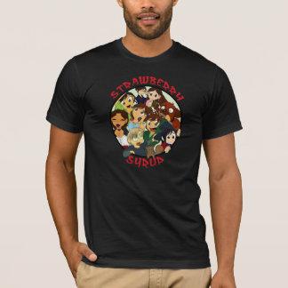 T-shirt Chemises d'obscurité de cercle de Chibi de syrop