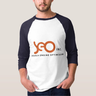 T-shirt chemises du base-ball de SEO, Inc.