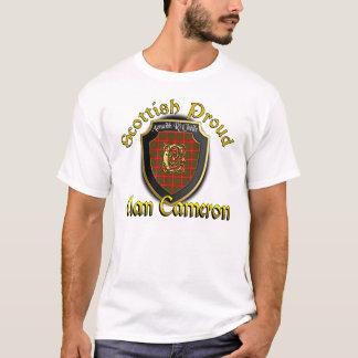 T-shirt Chemises fières écossaises de Cameron de clan