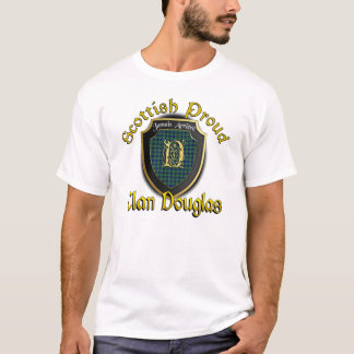 T-shirt Chemises fières écossaises de Douglas de clan