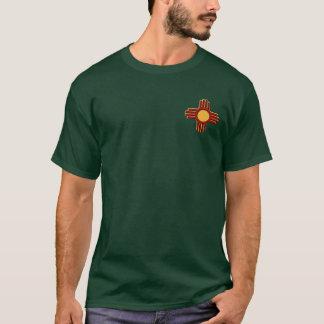 T-shirt Chemises foncées avant en hausse de Zia de timbre