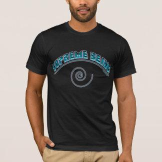 """T-shirt Chemises noires suprêmes du """"espace"""" d'être"""