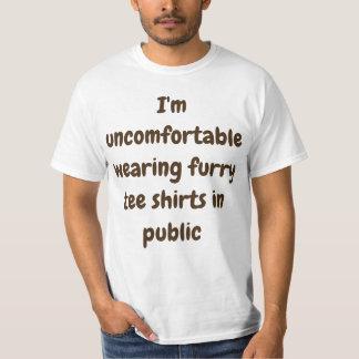 T-shirt Chemises velues l'en public