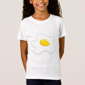 T-Shirt chemisette avec Oeuf sur le plat, idéal pour