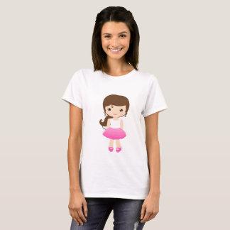 T-shirt CHEMISETTE DOUCE BOIT FashionFC ROSÉE