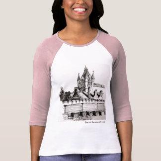 T-shirt Chemisette longue douille avec dessin