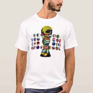 T-shirt chemisette mondiale 2010