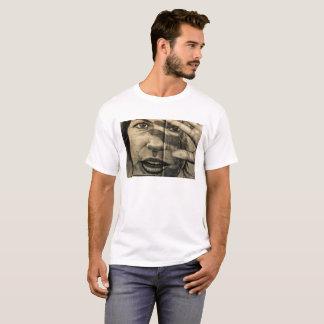 T-shirt Chemisette reflet