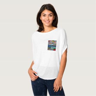 T-shirt Chemisier Artsy de poche