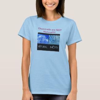 T-shirt Chemtrails ne sont pas naturel