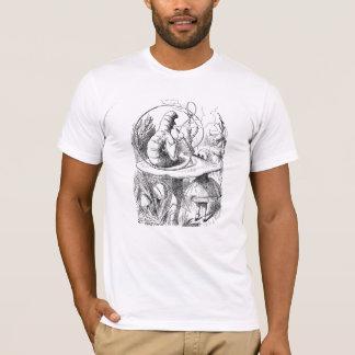 T-shirt chenille de tabagisme de narguilé