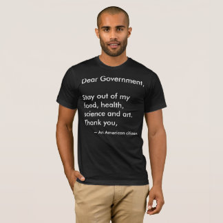 T-shirt Cher gouvernement