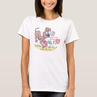 T-shirt Chercher des boules 4/neutre vos animaux familiers