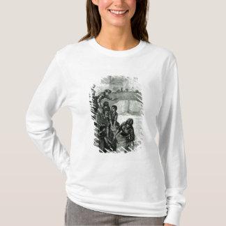 T-shirt Chercher l'eau de la rivière