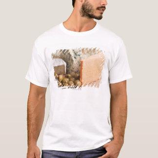 T-shirt chese et olives