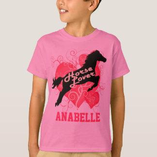 T-shirt Cheval Anabelle personnalisé par amant