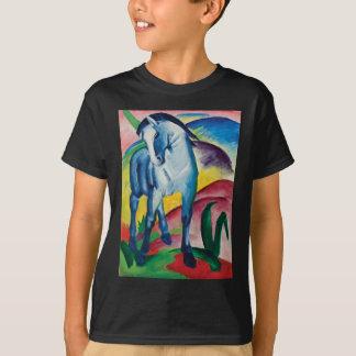 T-shirt Cheval bleu I par Franz Marc