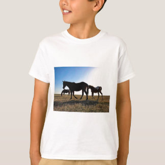 T-shirt Cheval de 3 prairies