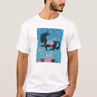 T-shirt Cheval de cadeau de Shire