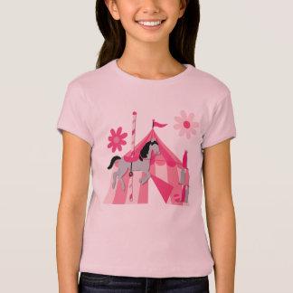 T-shirt Cheval de carrousel de chapiteau