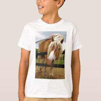 T-shirt Cheval de trait belge, obtenu des carottes ?